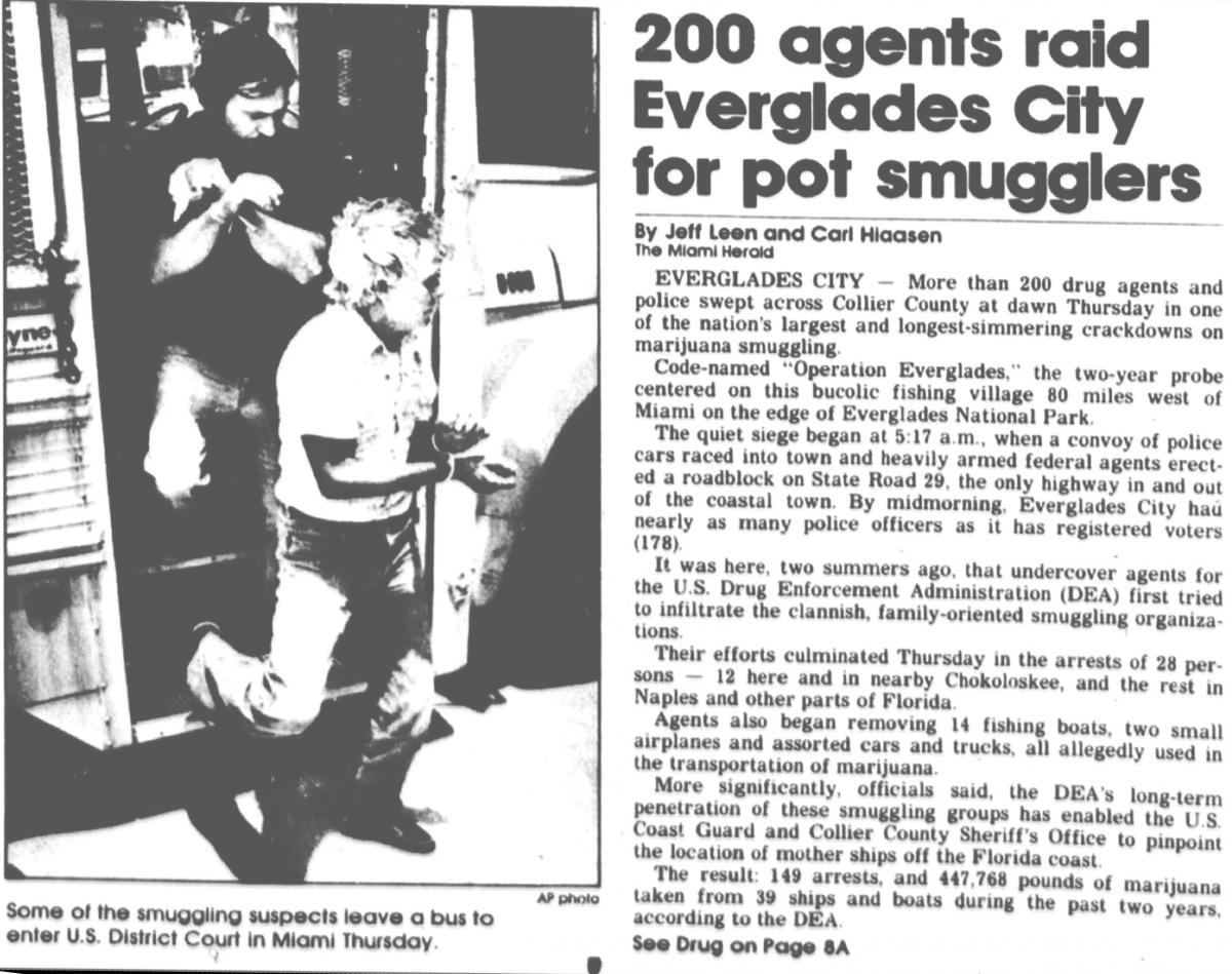 Drug Smuggling | Middle District of Florida | United States