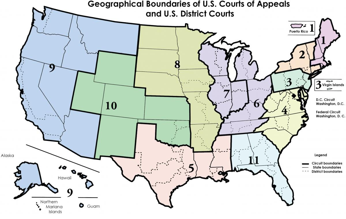 Federal District Court Map You Are Here | Middle District of Florida | United States District