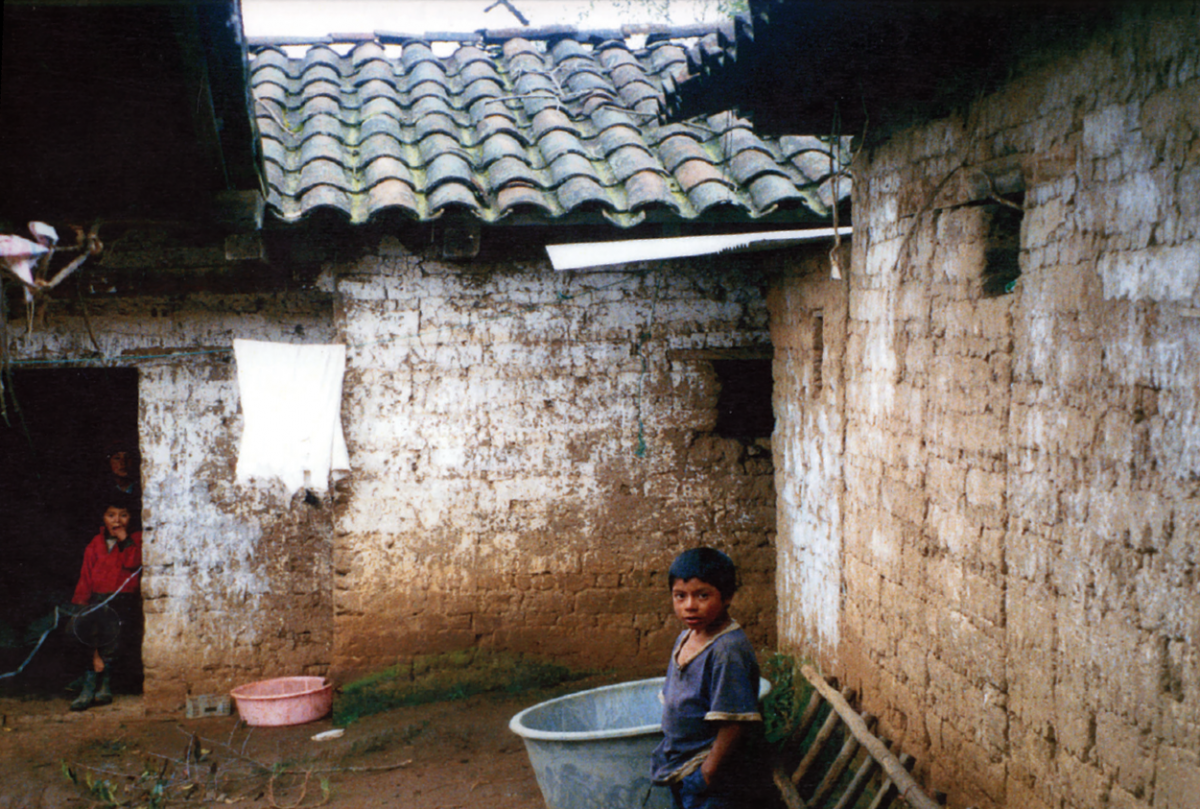 The Guatemalan villagers stalked by Jose Tecum lived in squalor.