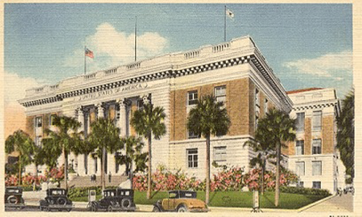 The Old Federal Courthouse, circa 1905