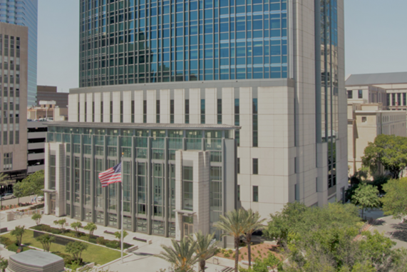 Photograph of the United States Middle District of Florida Jacksonville Courthouse