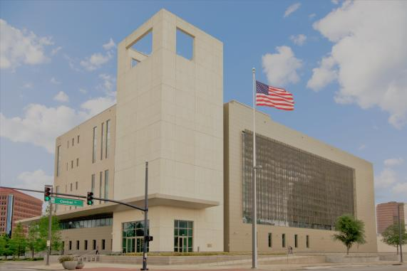 Photograph of the United States Middle District of Florida Orlando Courthouse