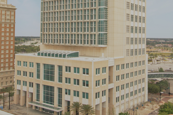 Photograph of the United States Middle District of Florida Tampa Courthouse